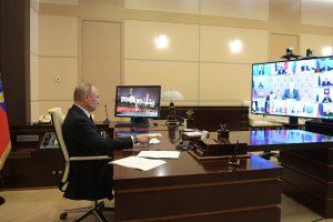 Президент России обратился к губернаторам и россиянам в связи с коронавирусом