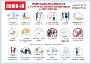 Роспотребнадзор: работодатели должны оставить на дистанционной работе сотрудников из групп риска