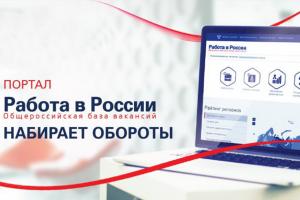 Свыше 60 тысяч новых рабочих мест добавилось на портале «Работа в России» за две недели