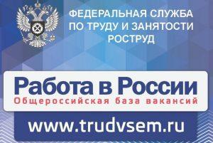 Расширен функционал портала «Работа в России»