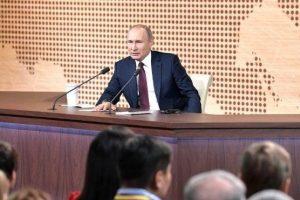 Пресс-конференция Президента России Владимира Путина стартует в полдень