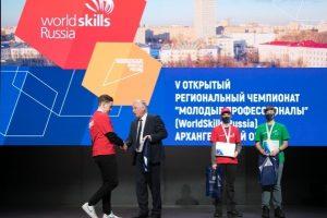 Победители регионального чемпионата «Молодые профессионалы» получили сертификаты на трудоустройство на Севмаш