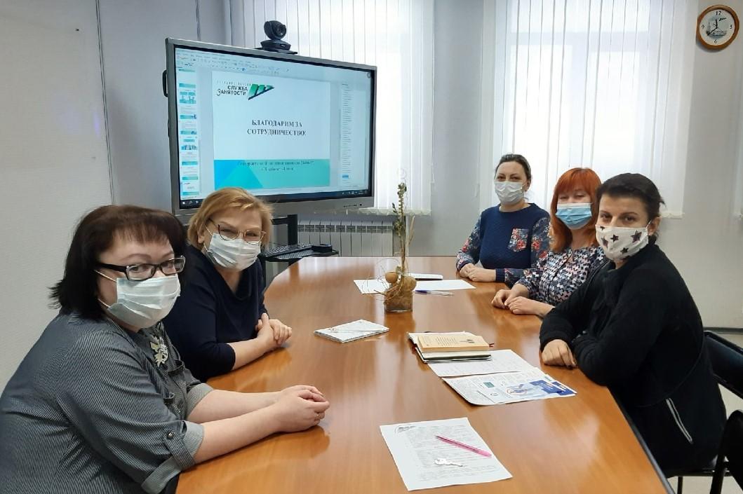 Центр «Мамина Пристань» трудоустраивает безработных граждан на временные общественные работы
