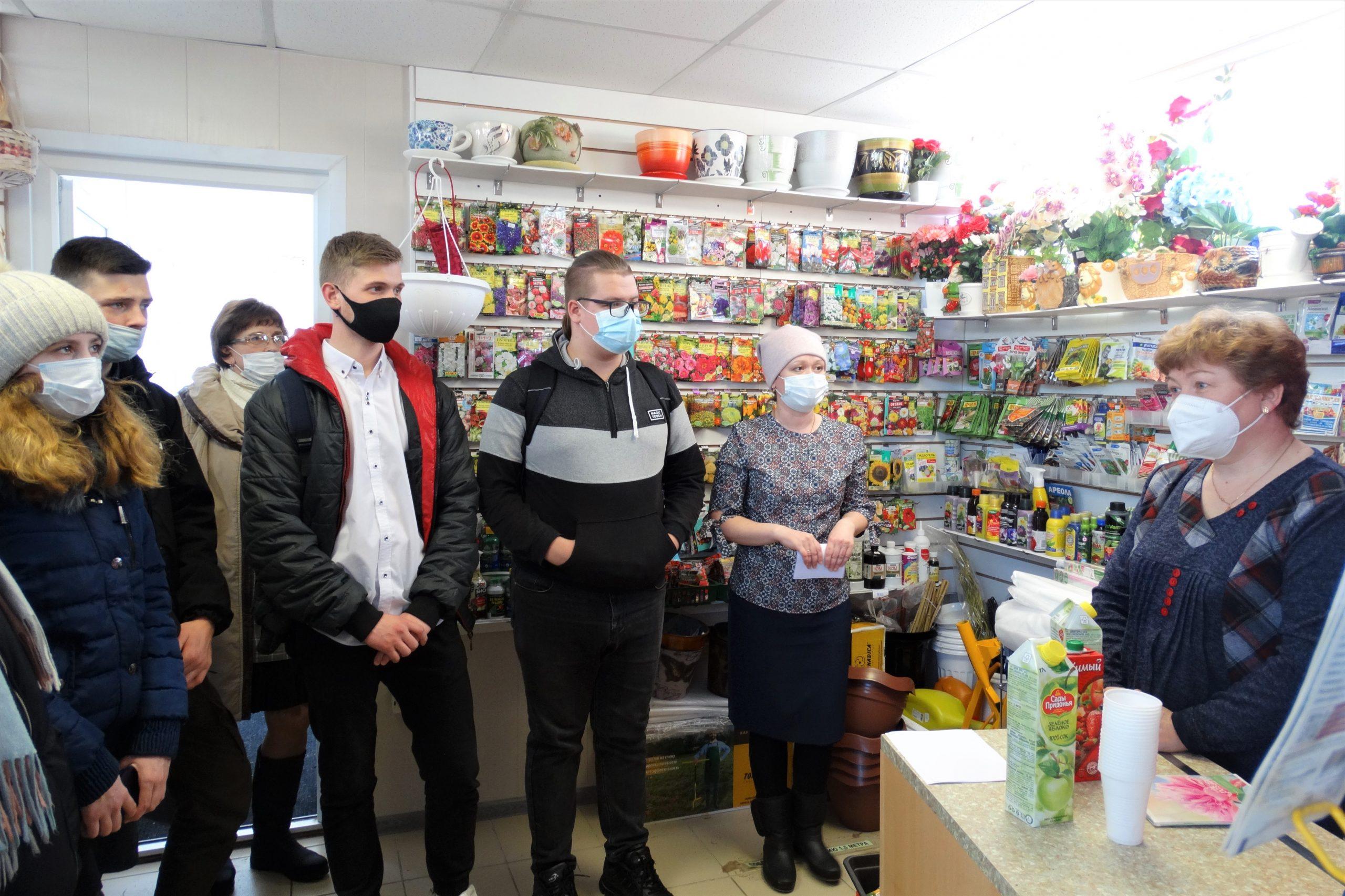 Профплощадка «Торговый бизнес» вызвала большой интерес у шенкурских школьников