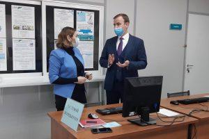 Олеся Старжинская посетила Архангельский областной центр занятости населения