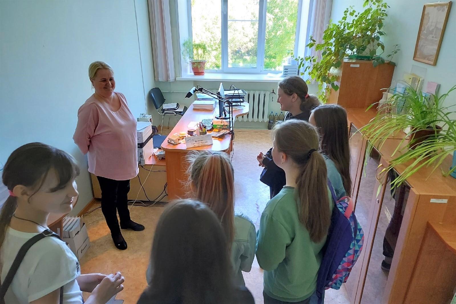 Профориентационная работа со школьниками Новодвинска продолжается и в летнее время