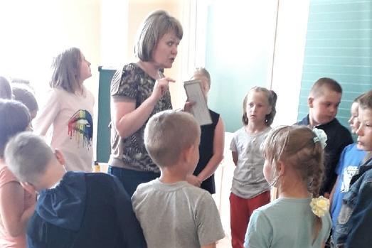 Путешествие по профессиям состоялось в летнем лагере Шеговарской средней школы