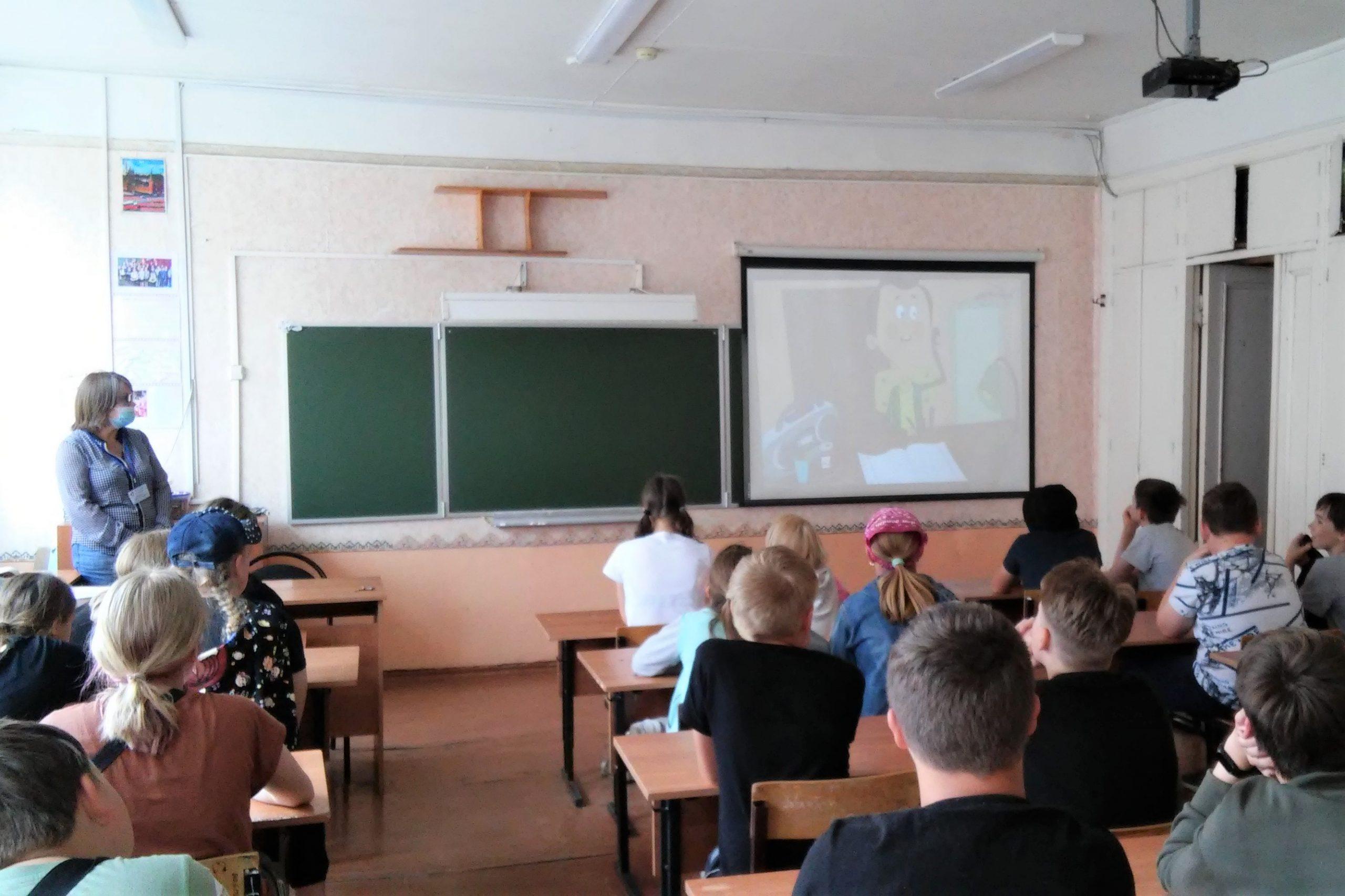 Отделение занятости населения в городе Котласе проводит профориентационные мероприятия со школьниками