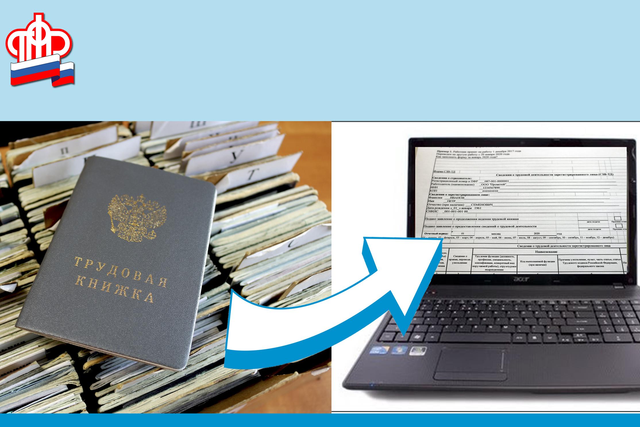 Более 29 тысяч работающих в Поморье и НАО выбрали электронный вариант трудовой книжки