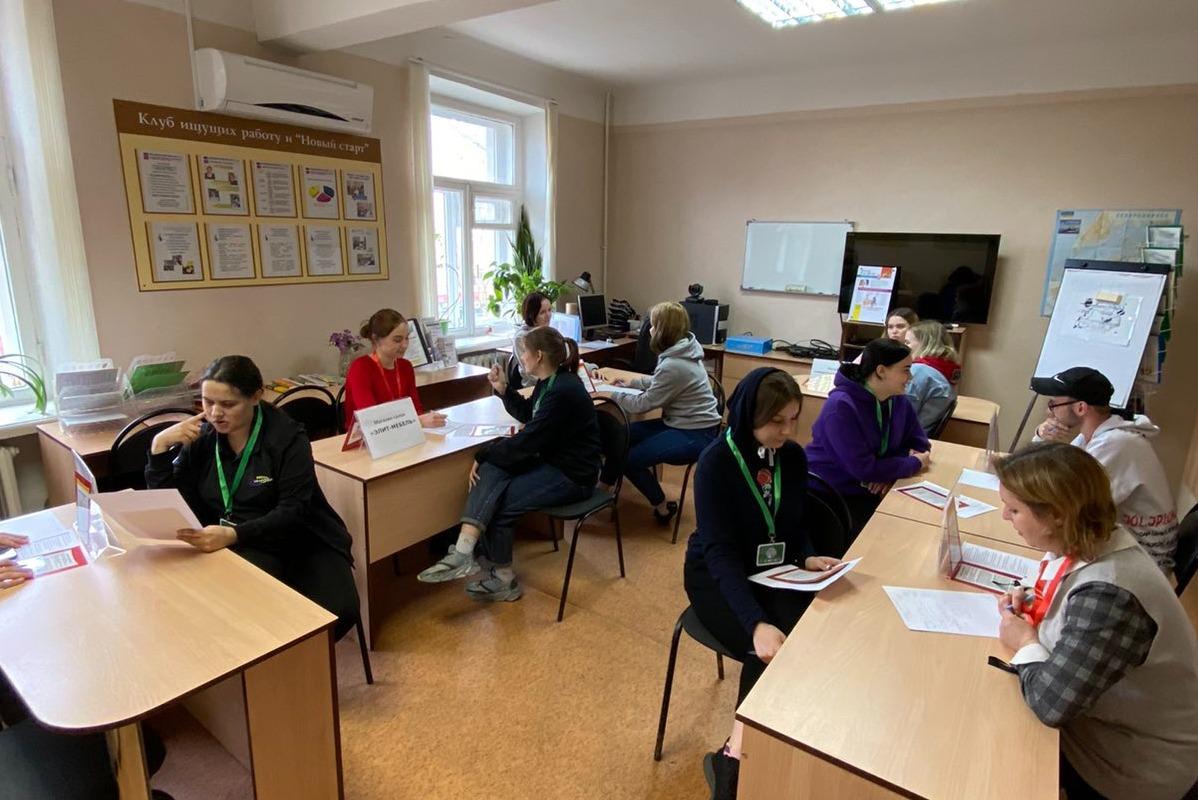 Служба занятости помогает студентам подготовиться к будущему трудоустройству