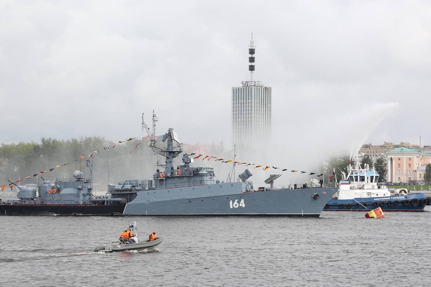 31 августа в Архангельске состоится военно-морской парад к 80-летию прихода первого конвоя «Дервиш»