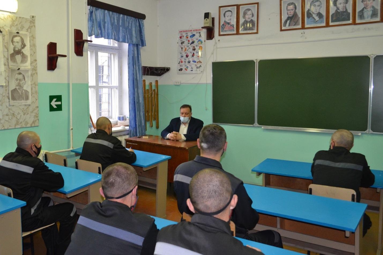 Осужденным ИК-16 рассказали, как встать на учёт по безработице онлайн
